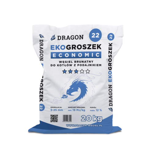 Ekogroszek ECONOMIC 20 kg Dragon