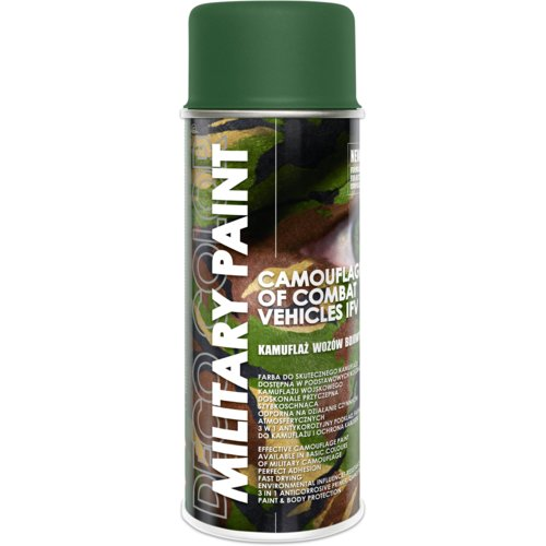 Farba do kamuflażu  Military Paint Ral 6003 olive green 0,4 l DECO COLOR