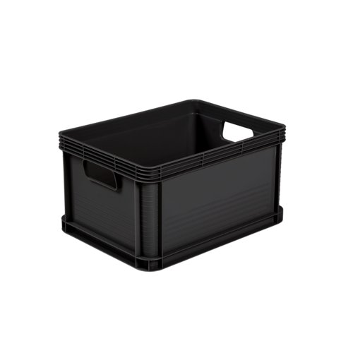 Pojemnik transport box 20 l grafit robert 40 x 30 x 22 cm keeeper