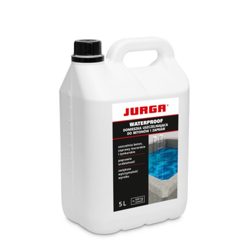 Domieszka do betonu WATERPROOF 5 l JURGA